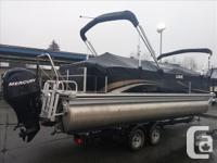 Just in, this 2012 Lowe Super Sport 250 pontoon is