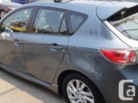 Make Mazda Model 3i Year 2012 Colour Grey kms 87000