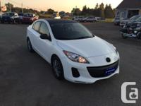 Make Mazda Model MAZDA3 Year 2012 Colour WHITE kms