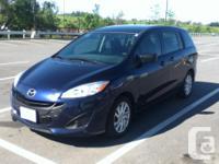 Make Mazda Model 5 Year 2012 Colour Blue kms 63000