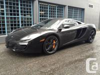 For sale is a 2012 McLaren MP4 - 12C Regarded as one of