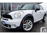 Make Mini Model Cooper S Countryman Colour White Trans