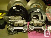 Up for sale is a new take off front brake system from a