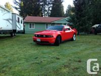 Make Ford Model Mustang Year 2012 Colour Red kms