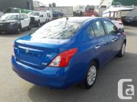 Make Nissan Model Versa Year 2012 Colour Blue kms