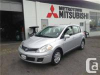 2012 Nissan Versa 1.8 S hatchback,  Local BC vehicle,