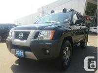Make Nissan Model Xterra Year 2012 Colour Black kms