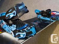 Nitro Team Series Gullwing snowboard Ride Ex series