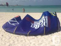 I am offering these 5 North Rebel kites and bars at the