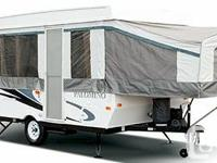 I have an almost brand-new 2012 Tent Trailer much less