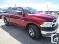 Make Ram Model 1500 Year 2012 Colour RED kms 68000