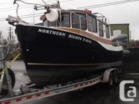 """This Ranger Tug R-25 SC """"Northern Bights"""" is.... The"""