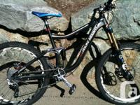 2012 Rocky mountain slayer 70 medium frame all parts