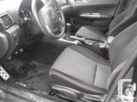 Make Subaru Model WRX Year 2012 Colour GREY kms 168000