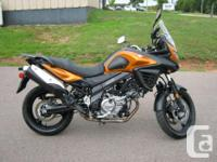 2012 Suzuki V-Strom 650A ABS Beautiful one owner