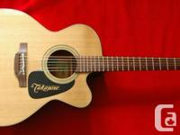 A factory dead mint 2012 Takamine P1JC-12 Proseries