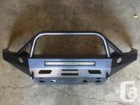 Pelfrey built front winch bumper.$1500 Black Powder