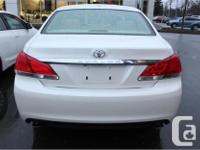 Make Toyota Model Avalon Year 2012 Colour White kms