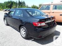 Make Toyota Model Corolla Year 2012 Colour Black kms