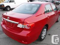 Make Toyota Model Corolla Year 2012 Colour Red kms