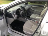 Make Toyota Model Corolla CE Year 2012 Colour silver