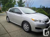 Make Toyota Model Matrix Year 2012 Colour Silver kms