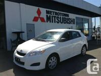 2012 Toyota MATRIX Hatchback, Local BC Vehicle,  NO