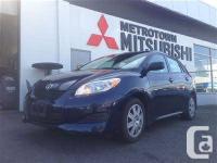 2012 Toyota Matrix, , Mint condition, lube oil & filter