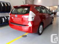 Make Toyota Model Prius V Year 2012 Colour Red kms
