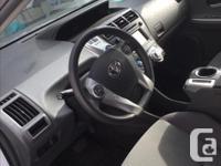 Make Toyota Model Prius V Year 2012 Colour white kms