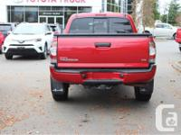 Make Toyota Model Tacoma Year 2012 Colour Red kms