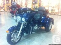 New 2012 Tri Glide Harley. 7000km