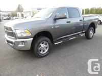 You work hard for your money ... 2012 Ram 3500 SLT Here