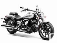 2012 Yamaha V-Star 950. New. Red or Silver to pick
