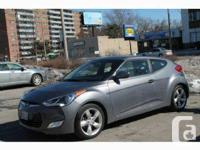 Very well maintained 2012 , 3 doors Veloster with