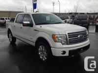 This Ford F-150 Platinum is the top of the line model,