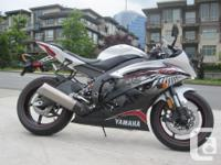 2012 Yamaha YZF-R6. NEW! One Only! $9999. Rare colour