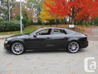 Make Audi Year 2013 Colour black on black kms 83000