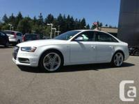 2013 Audi  White S4 Premium  ONLY 2700 KMS in