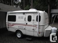 Fresh Getaway 15B trip trailer, includes all the common