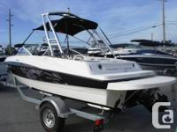 This 2013 18 foot Bayliner 185 Sport is in awesome,