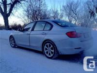 Make. BMW. Version. 328i. Year. 2013. Colour. Silver.