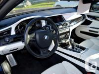 Make BMW Model 7 Series Year 2013 Colour Black kms for sale  British Columbia
