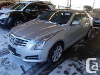 2013 CADILLAC ATS AWD PERFORMANCE (SILVER) 193 KMS,