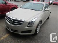 Make Cadillac Model ATS Year 2013 Colour Gold kms