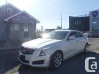 Make Cadillac Model ATS Year 2013 Colour WHITE kms