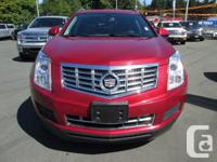 Make Cadillac Model SRX Colour RED Trans Automatic kms