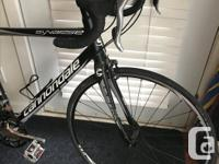 I have for sale a Cannondale road bike from 2013. This
