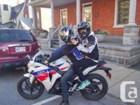 Make Honda Model Cbr Year 2013 kms 7300 Hi there, I