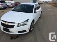 Make Chevrolet Model Cruze LT Year 2013 Colour White